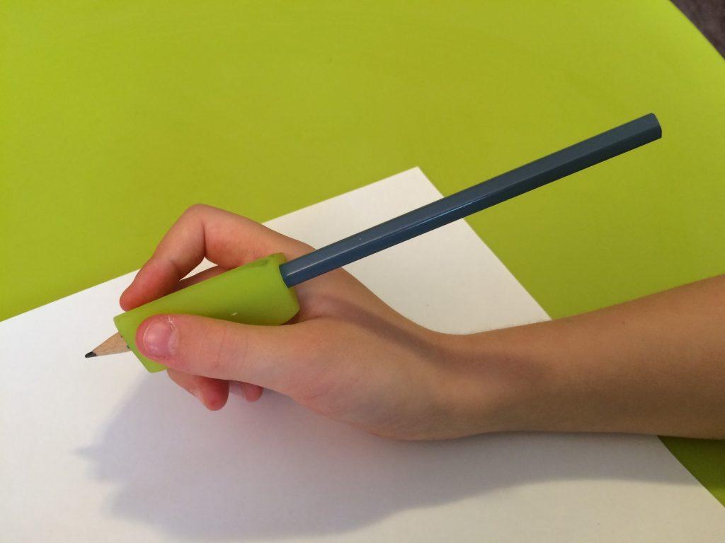 Pomôcka na správne držanie ceruzky