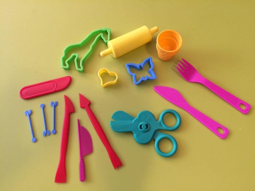 Plastelínové formičky na modelovanie