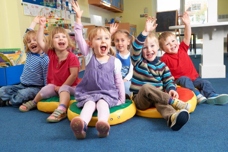 preschool children answering questions