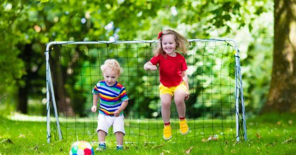 Vzdelanie a šport v prvých piatich rokoch života dieťaťa