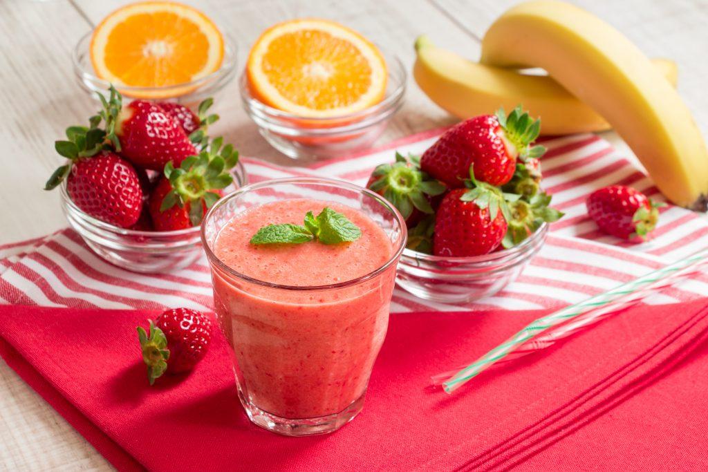 fruit strawberry smoothie