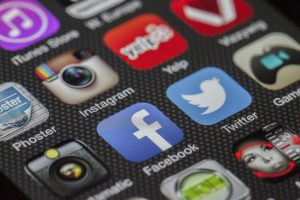 facebook twitter and other social medias